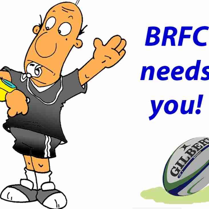 Referees needed!