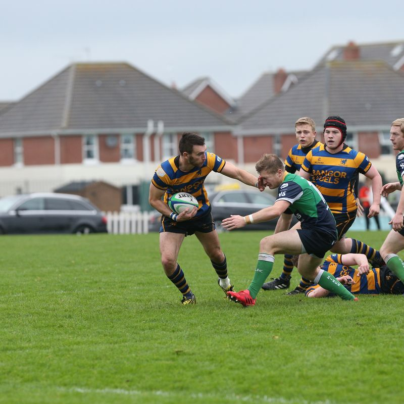 Hinch too  strong for Bangor in Senior Cup