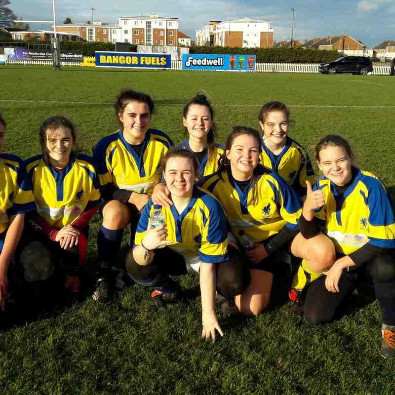 26/11/17 Ballyclare Ladies U18 - Friendly