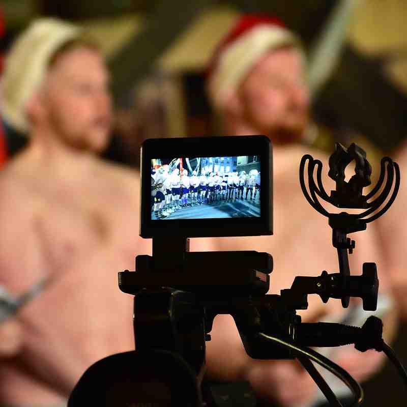 18/12/17 Topless Carol Singers and the BBC One Show