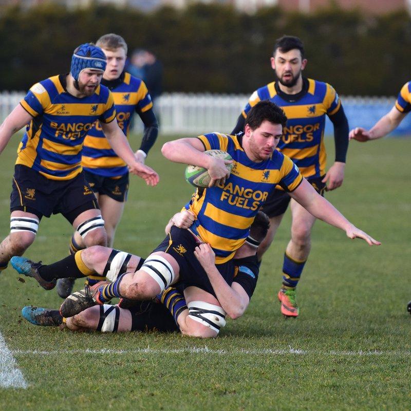 Bangor topple league leaders Malahide