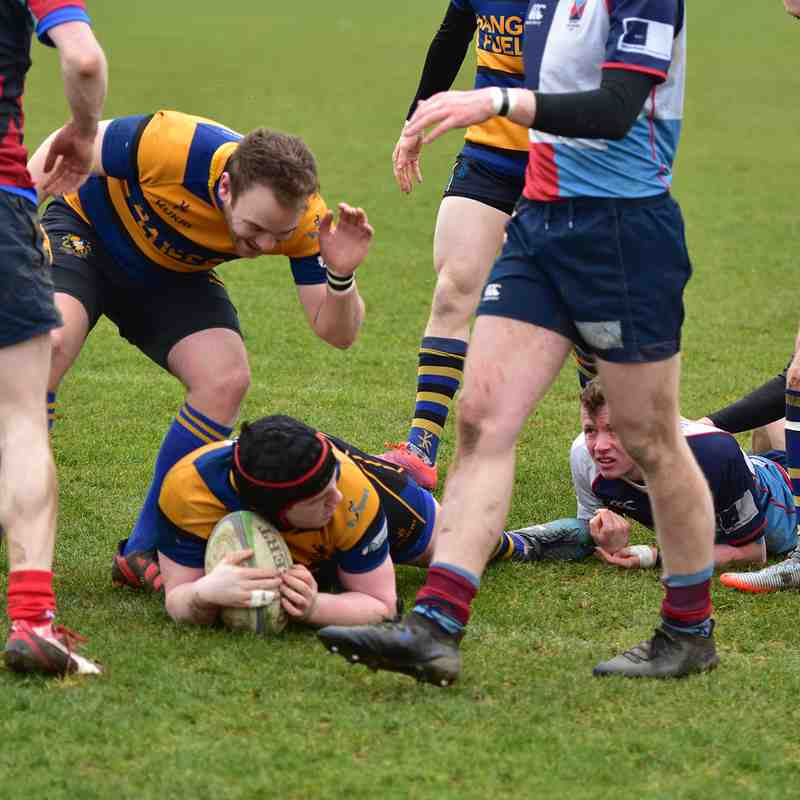 17/3/18 Harlequins 2nds - Provincial League Div 1
