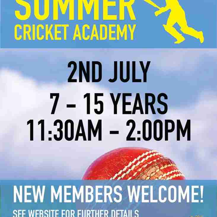 Summer Cricket Academy