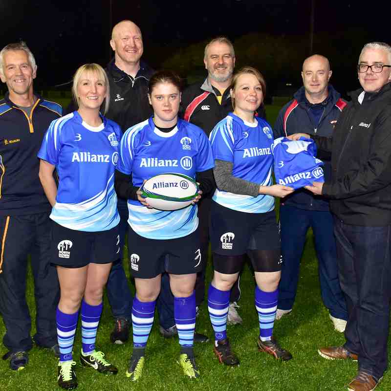 4/10/18 Official launch of North Down Ladies Rugby Team