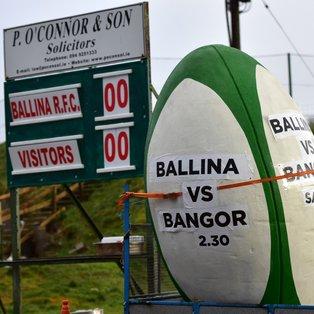 Bangor unlucky at Ballina