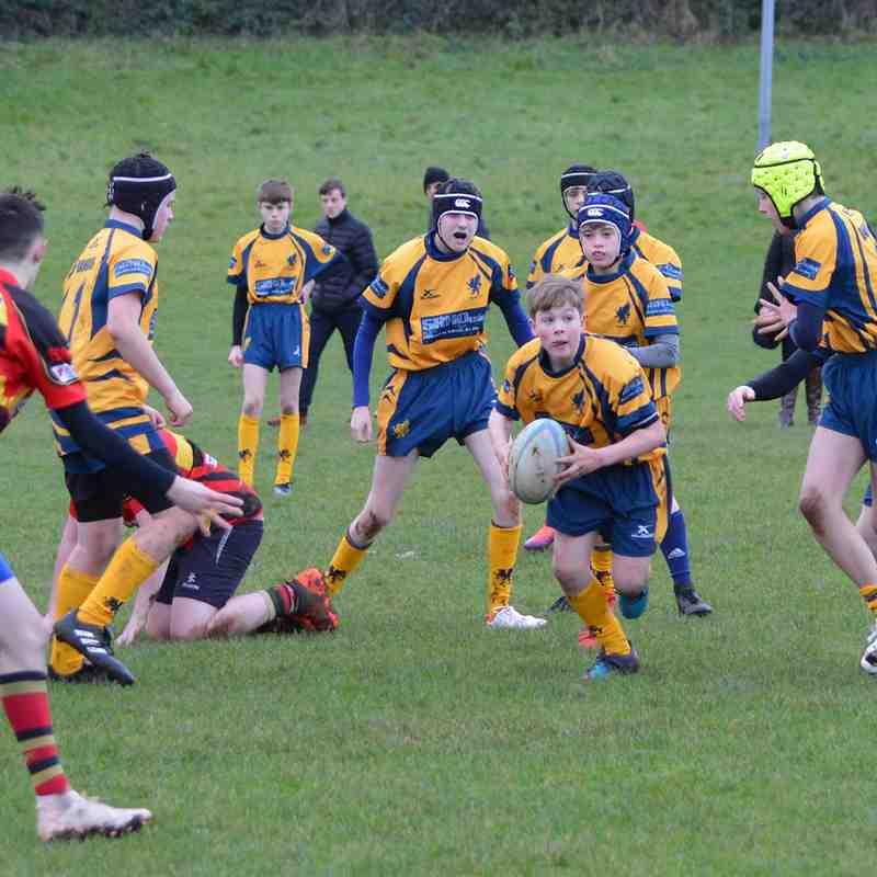 29/12/18 Ophir U14 - Ulster Carpets League
