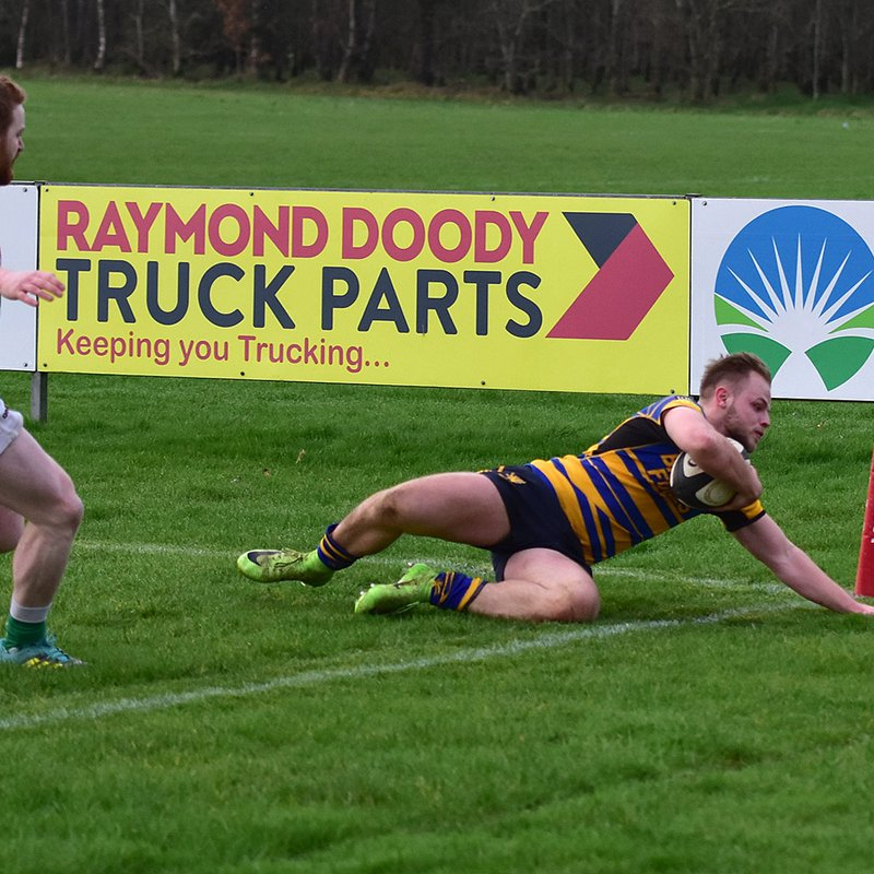 Early Omagh blitz sinks Bangor