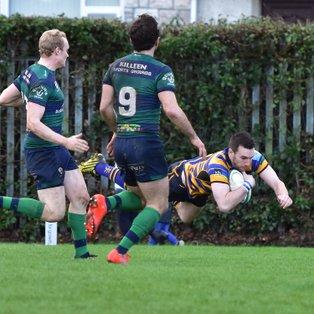 Bangor mistakes punished by Ballina