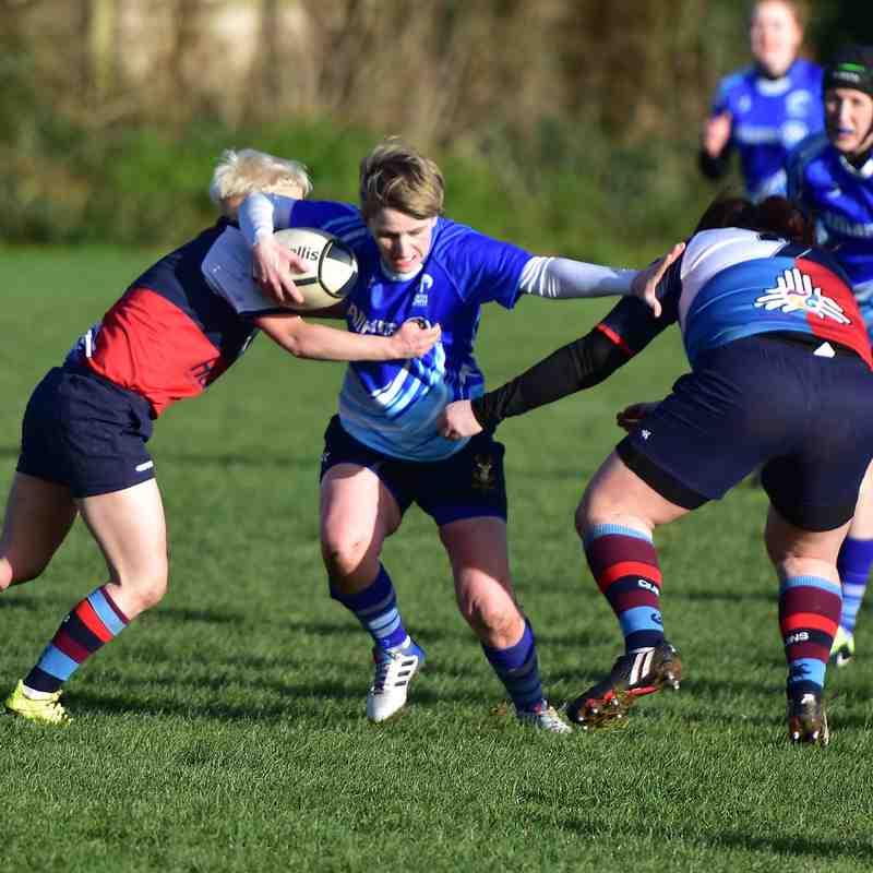 27/1/19 North Down Ladies v Harlequins Ladies