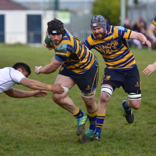 Bangor get touched up at Thomond