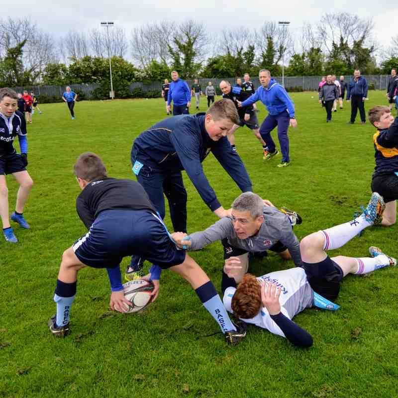 8/5/19 U14 v Parents (tag rugby)