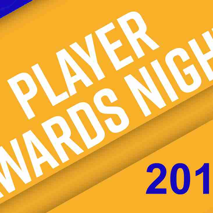 2019 Player Awards