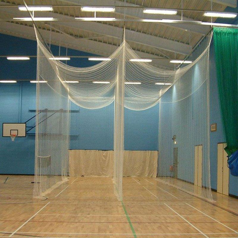 Winter net practice