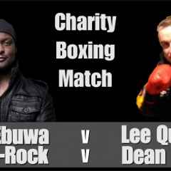 Charity Boxing Match with Victor Ebuwa & J-Rock