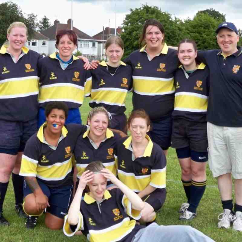 FWOE ladies at Kidderminster 7s June 2011