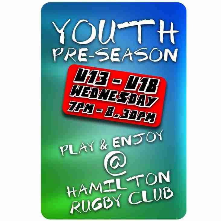 Youth Section Pre-Season