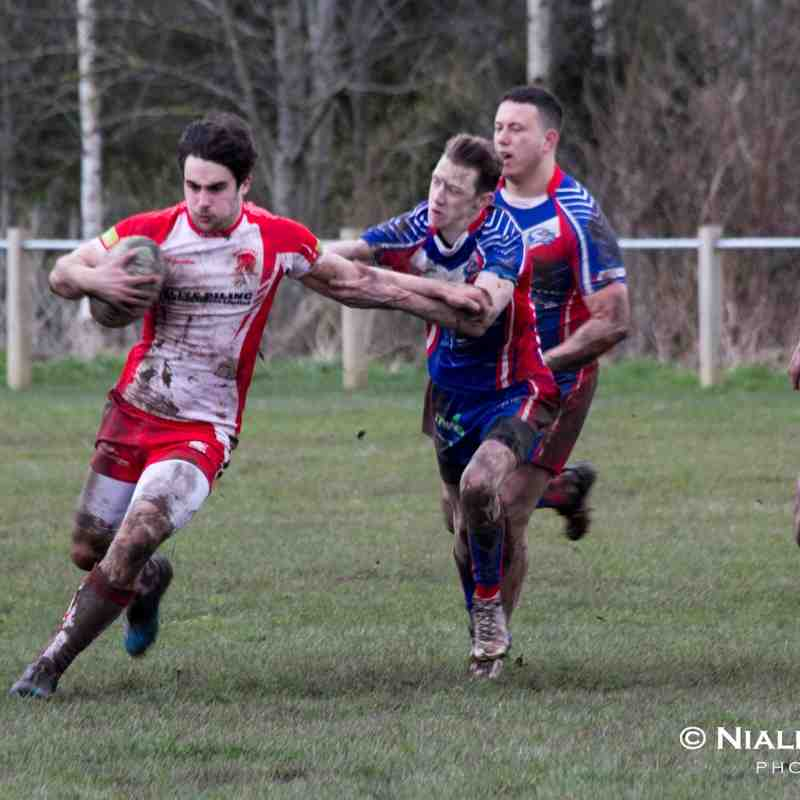 Leyland Warriors open age VS Shevington Sharks 09/04/16