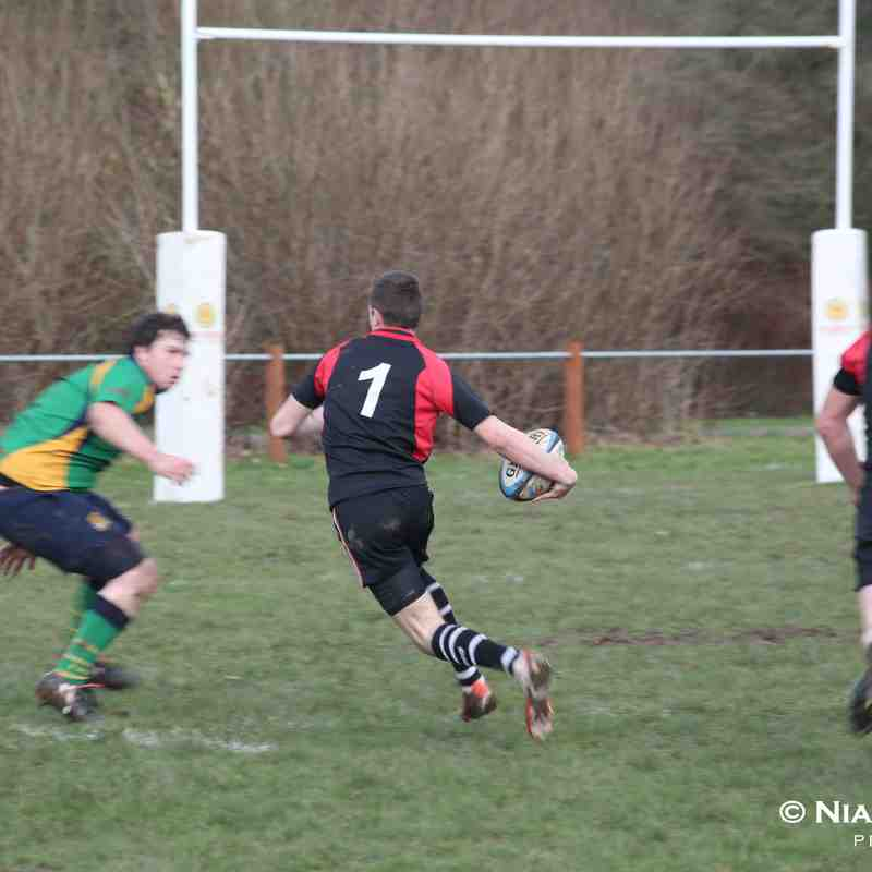 Leyland warriors open age Union Vs Fleetwood 18.02.2017