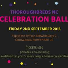 Thoroughbreds NC Celebration Ball 2016