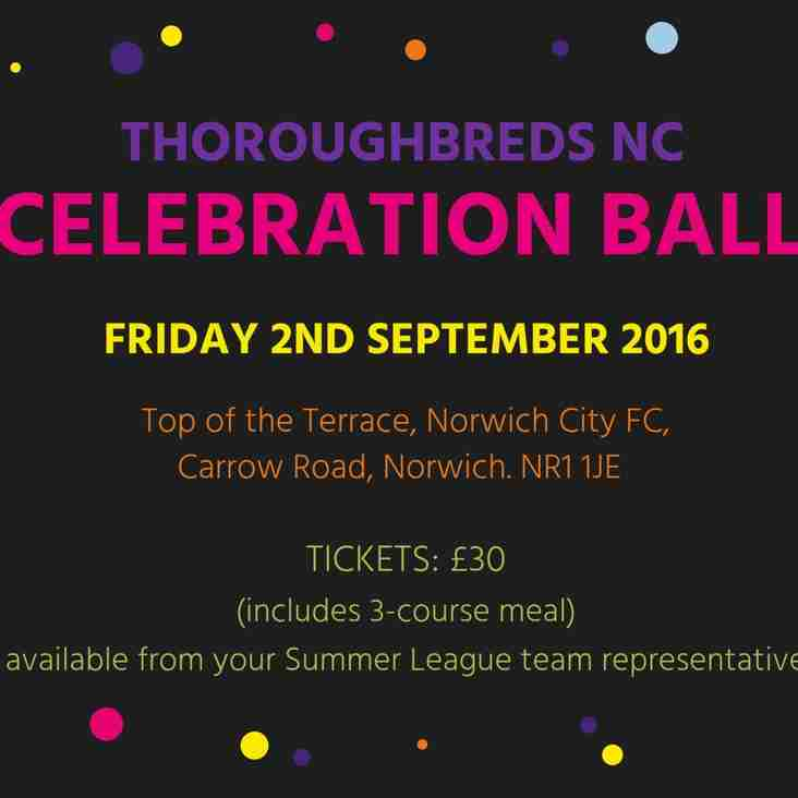 Thoroughbreds NC Celebration Ball 2016