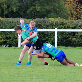 Under 18s hit teamwork targets in attack