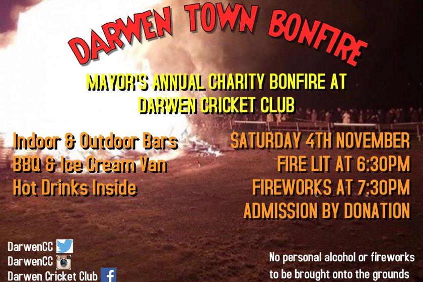 Darwen Town Bonfire
