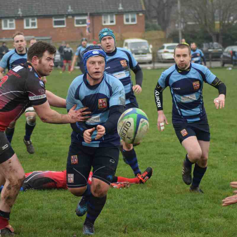 1st XV v Dartford Valley (39-5) 11.2.17