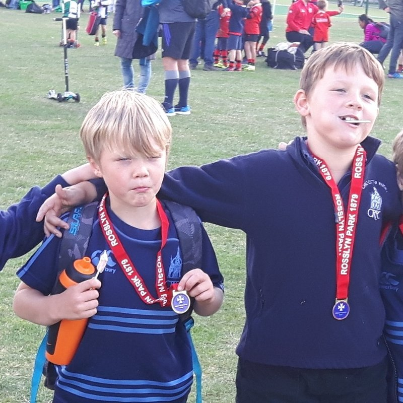 Chichester U7's  first away match to Rosslyn Park, London 2016