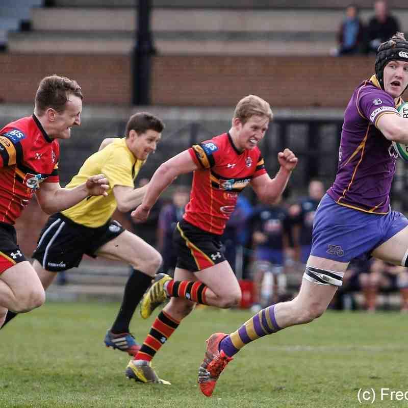 Marr Rugby: BT NL1 Away Stewart Melville (02/04/2016)