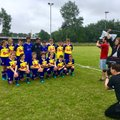 Littleton u14s are part of the official Southampton FC kit launch today