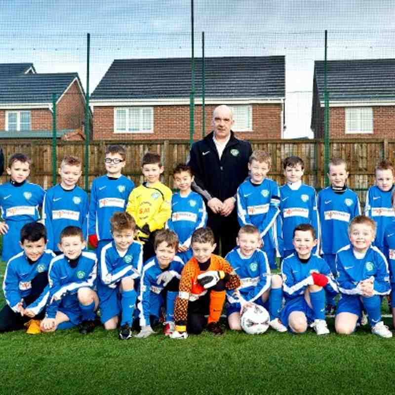 Under 8s Team Photos