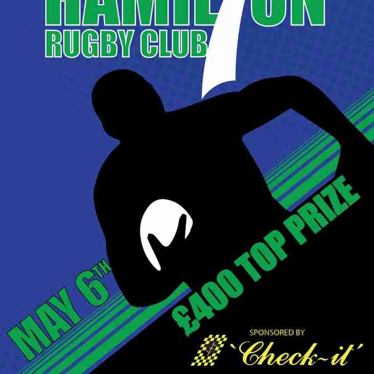 The Hamilton Check-it Scaffolding 7s 2017