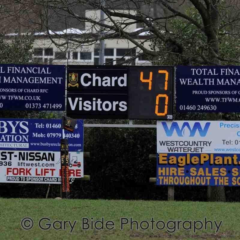 Chard U16's  81 v 5  Weymouth ~ 26 February 2017.  Main Match Collection Volume One.
