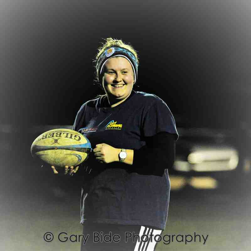 Chard Ladies XV Rugby Training Session ~ 13 March 2017.  Main Pitch under Flood Lights Volume One