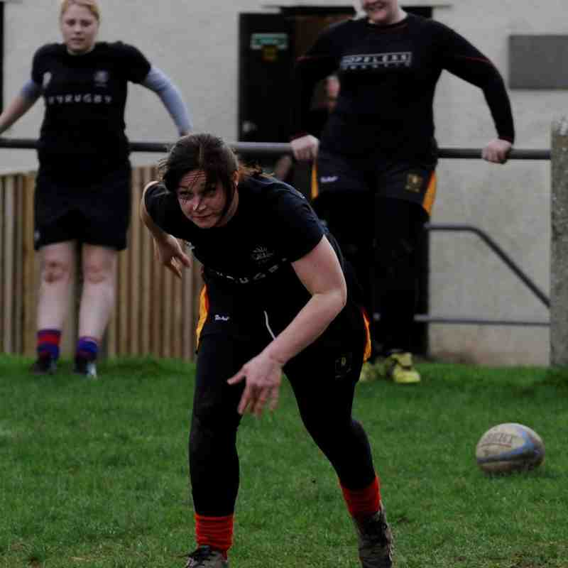 Chard Ladies XV Sunday Rugby Training Session ~ 19 March 2017. Volume Two