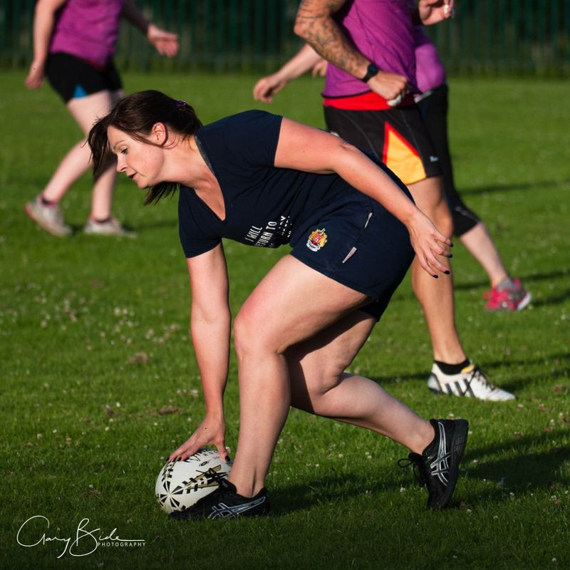 "Chard Ladies XV ""Touch Rugby"" Training Session ~ 3 July 2017"