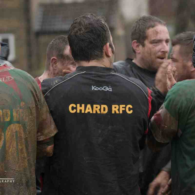 "Crewkerne Veterans 10 v 5 Chard Veterans ""Boxing Day"" Rugby Match"