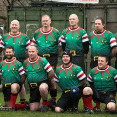 """Crewkerne Veterans 10 v 5 Chard Veterans """"Boxing Day"""" Rugby Match"""