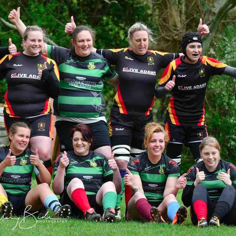 Chard Ladies XV 69 v 26 Withycombe Barbarians ~ 29 April 2018