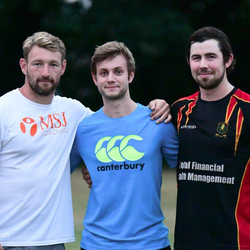 Chard RFC Training Sessions with Matt Jess ~ 18 July 2018