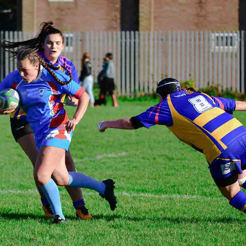 Clevedon Ladies XV v Cheddar Ladies XV ~ 21 October 2018
