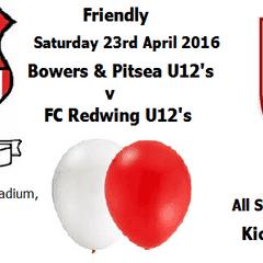 Bowers & Pitsea U12's take on Redwing