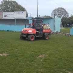 Pitch upgrade has started