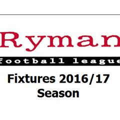 Bowers Fixtures 2016/17 Season
