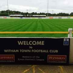 Witham Town v Bowers & Pitsea (Monday 29th August)