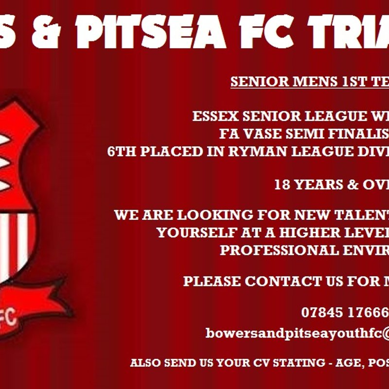 1ST TEAM TRIAL GAME