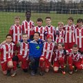 Under 12's Blue beat Hawkwell Athletic YFC U12's Red 6 - 0