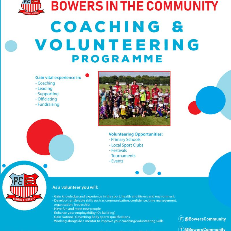 Coaching & Volunteering Programme