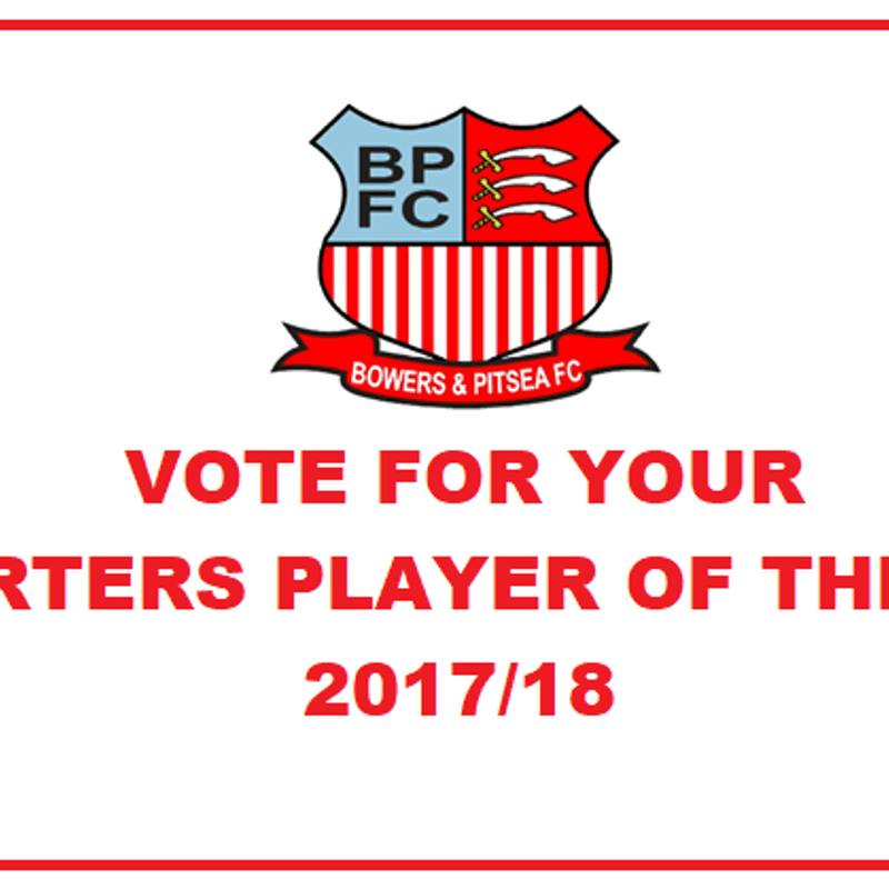 Supporters Player of the Season 2017/18