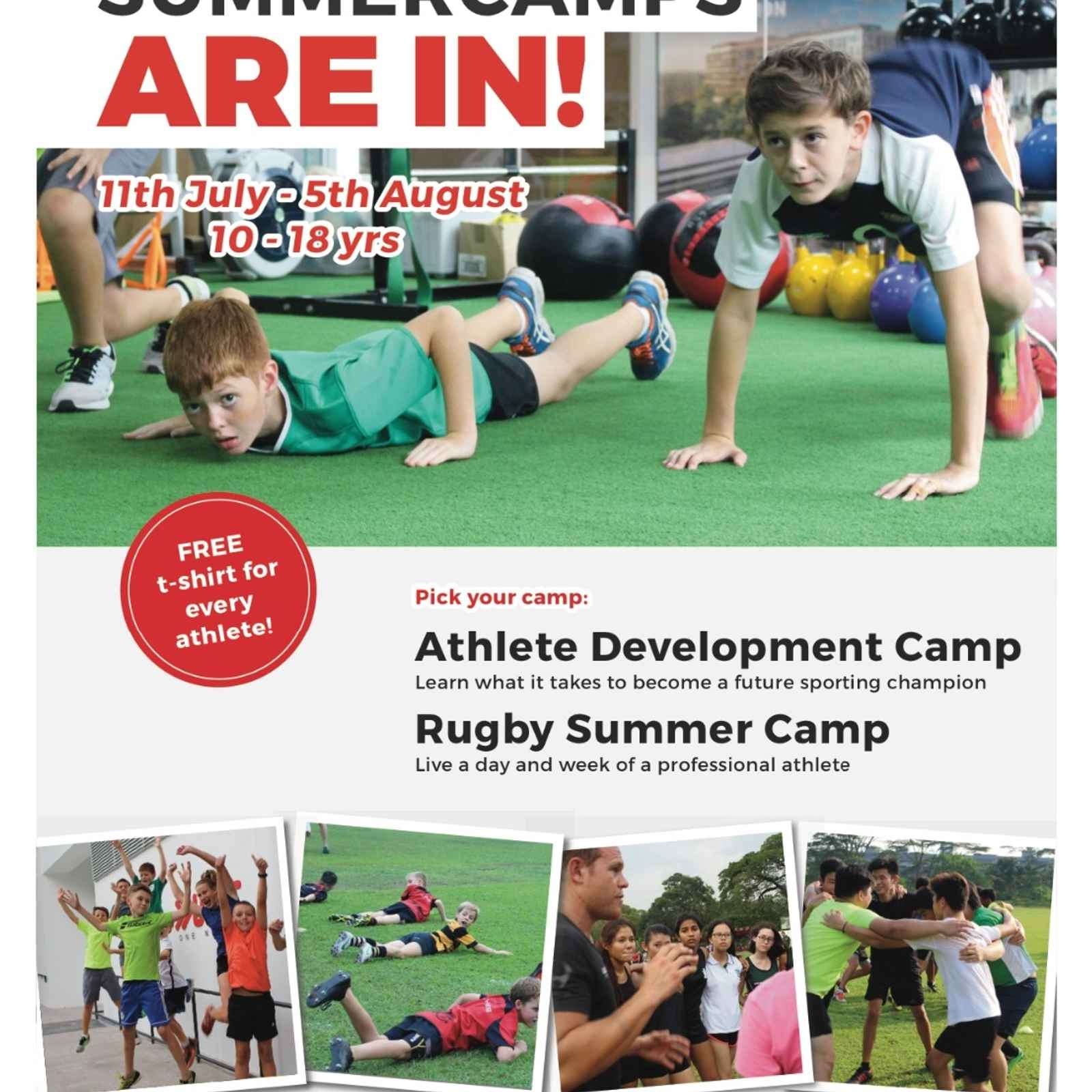 UFIT Athletic Development and Rugby Camp 11th July - 5th August